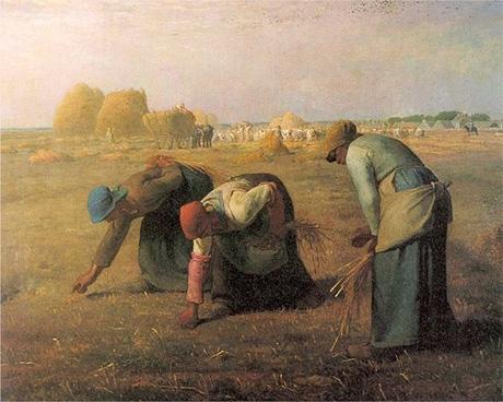"""""""The Gleaners"""" por Jean-François Millet (1857)"""